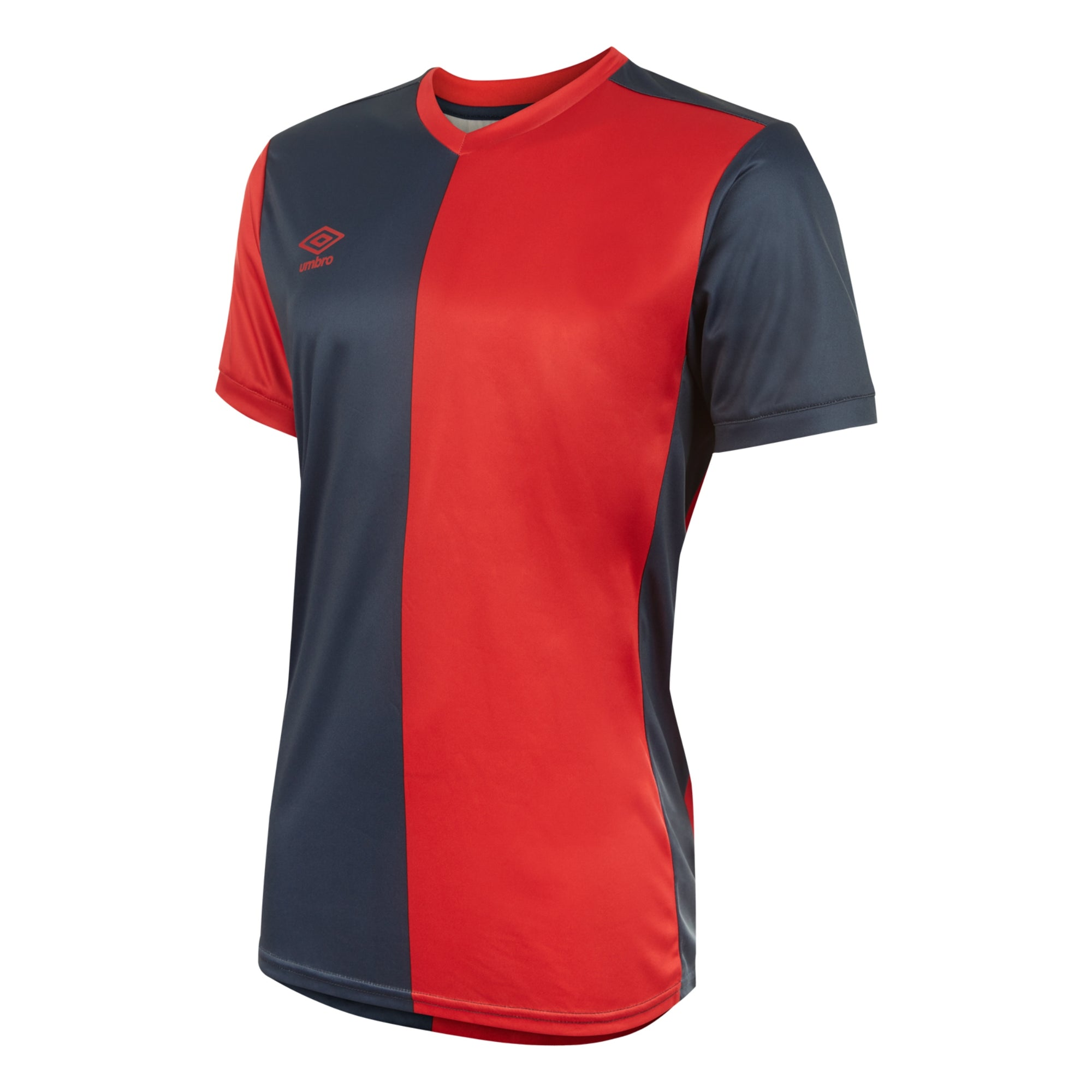 Umbro 50/50 SS Jersey - Vermillion/Dark Navy