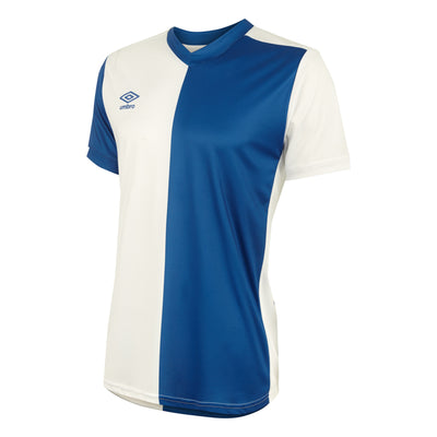 Umbro 50/50 SS Jersey - Royal/White