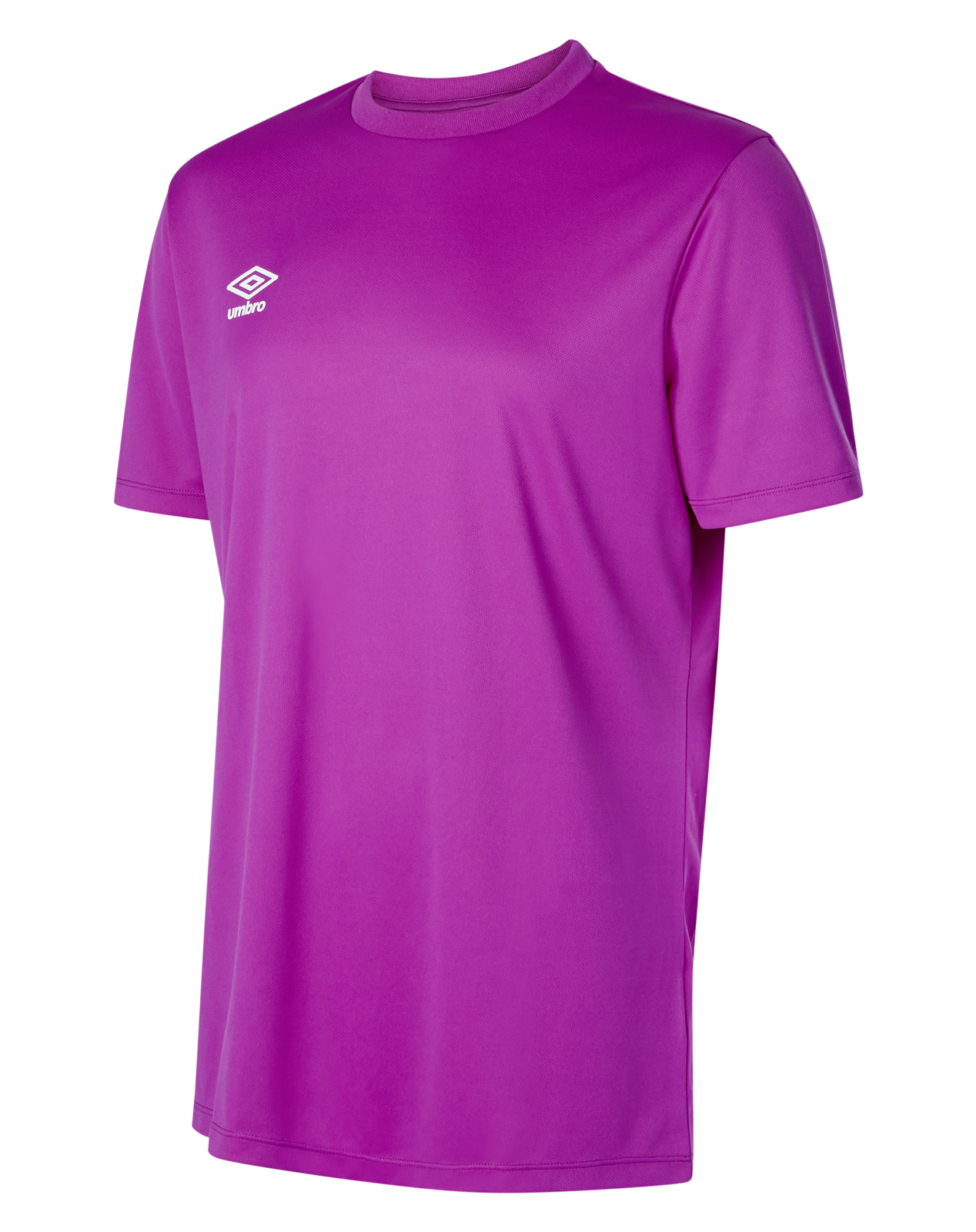 Short sleeve Umbro Club jersey in purple cactus with white Umbro logo