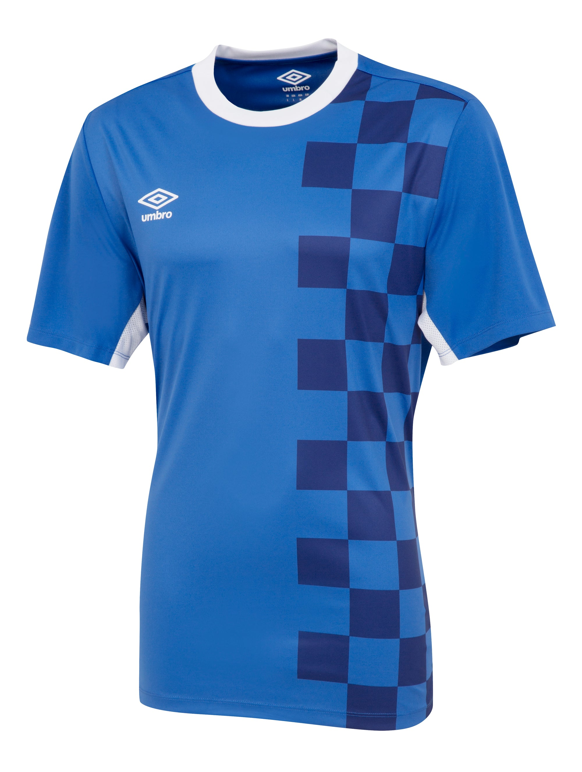 Umbro Stadion Jersey SS - TW Royal/White