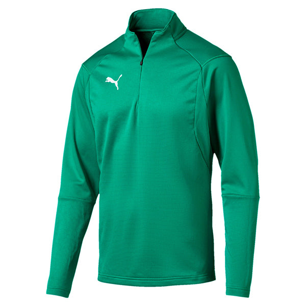 Puma Liga Training 1/4 Zip Top - Pepper Green