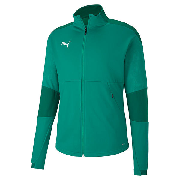 Puma Final Training Jacket - Pepper Green/Power Green