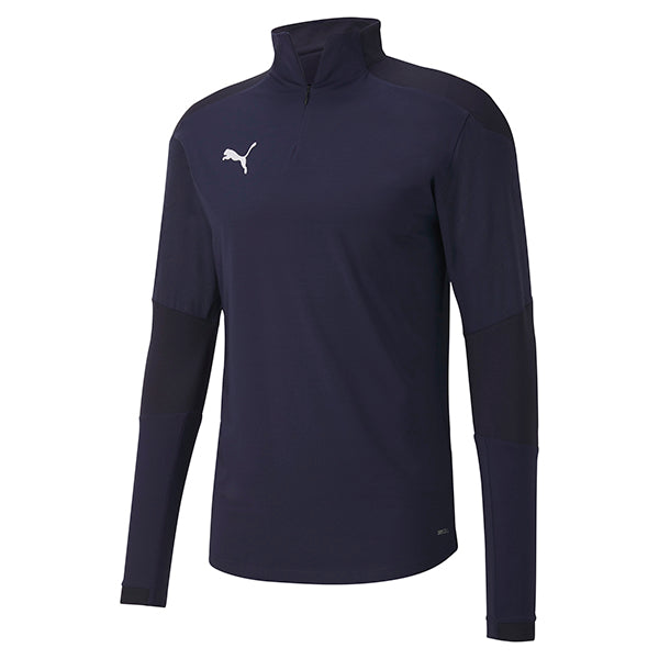 Puma Final Training 1/4 Zip Training Top - Peacoat/New Navy