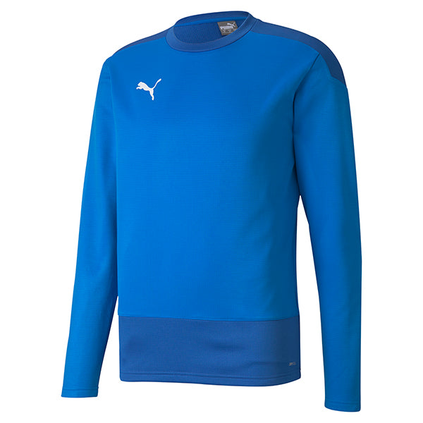 Puma Goal Training Sweat - Electric Blue/Team Power Blue