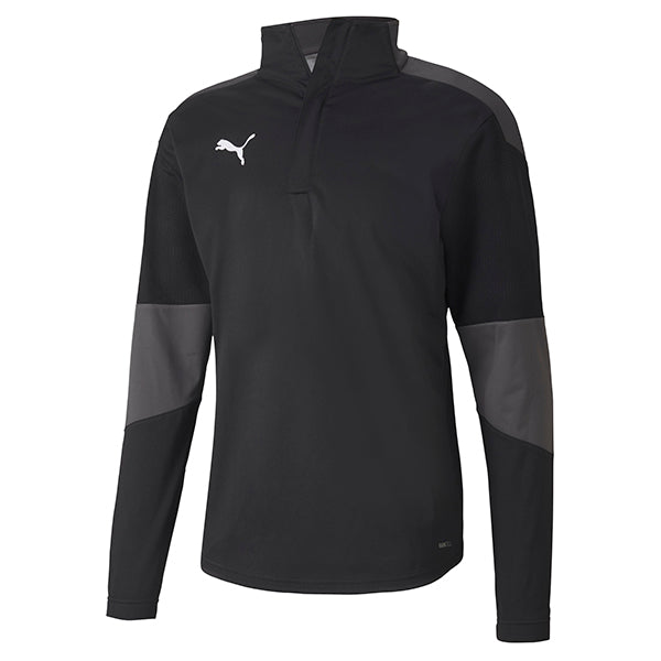 Puma Final Training Rain Top - Black/Asphalt
