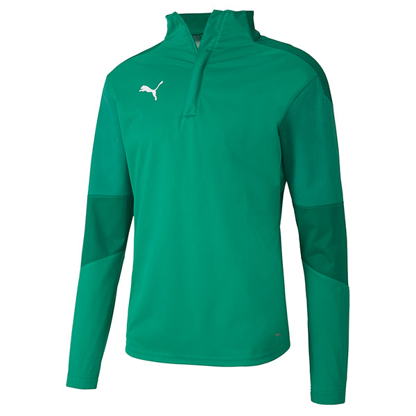 Puma Final Training Rain Top - Pepper Green/Power Green
