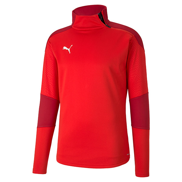 Puma Final Training Fleece - Red/Chilli Pepper