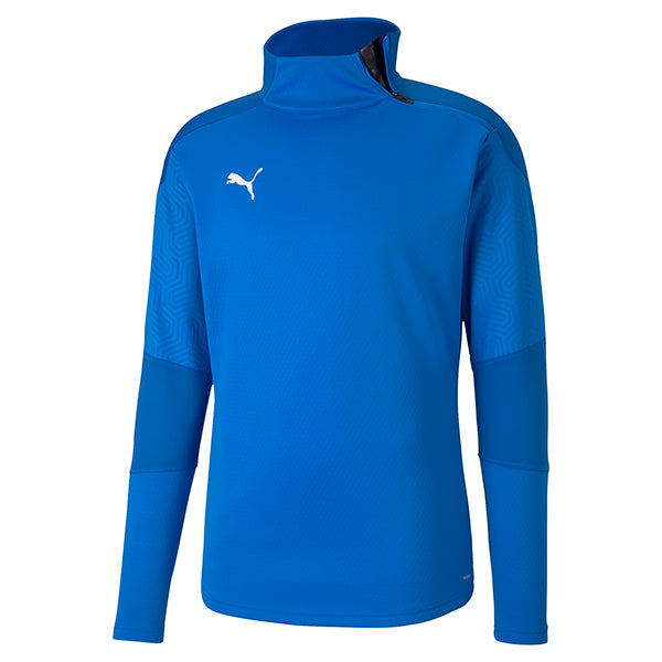 Puma Final Training Fleece - Electric Blue/Team Power Blue