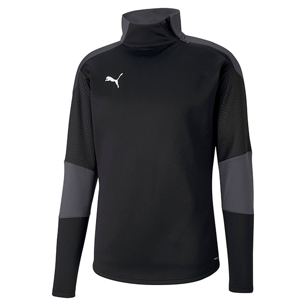 Puma Final Training Fleece - Black/Asphalt
