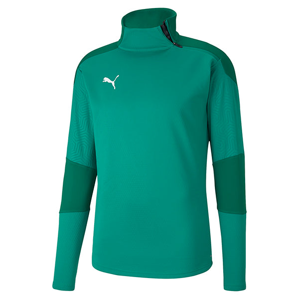 Puma Final Training Fleece - Pepper Green/Power Green