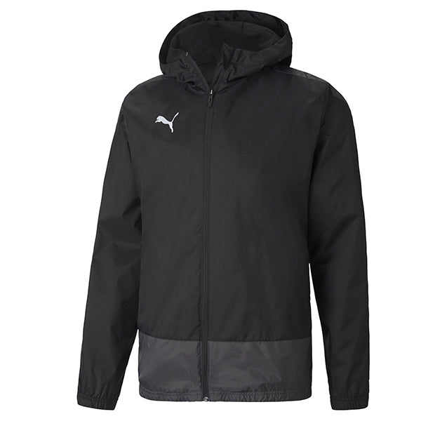 Puma Goal Training Rain Jacket - Black/Asphalt