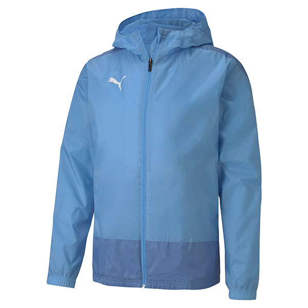 Puma Goal Training Rain Jacket - Team Light Blue/Blue Yonder