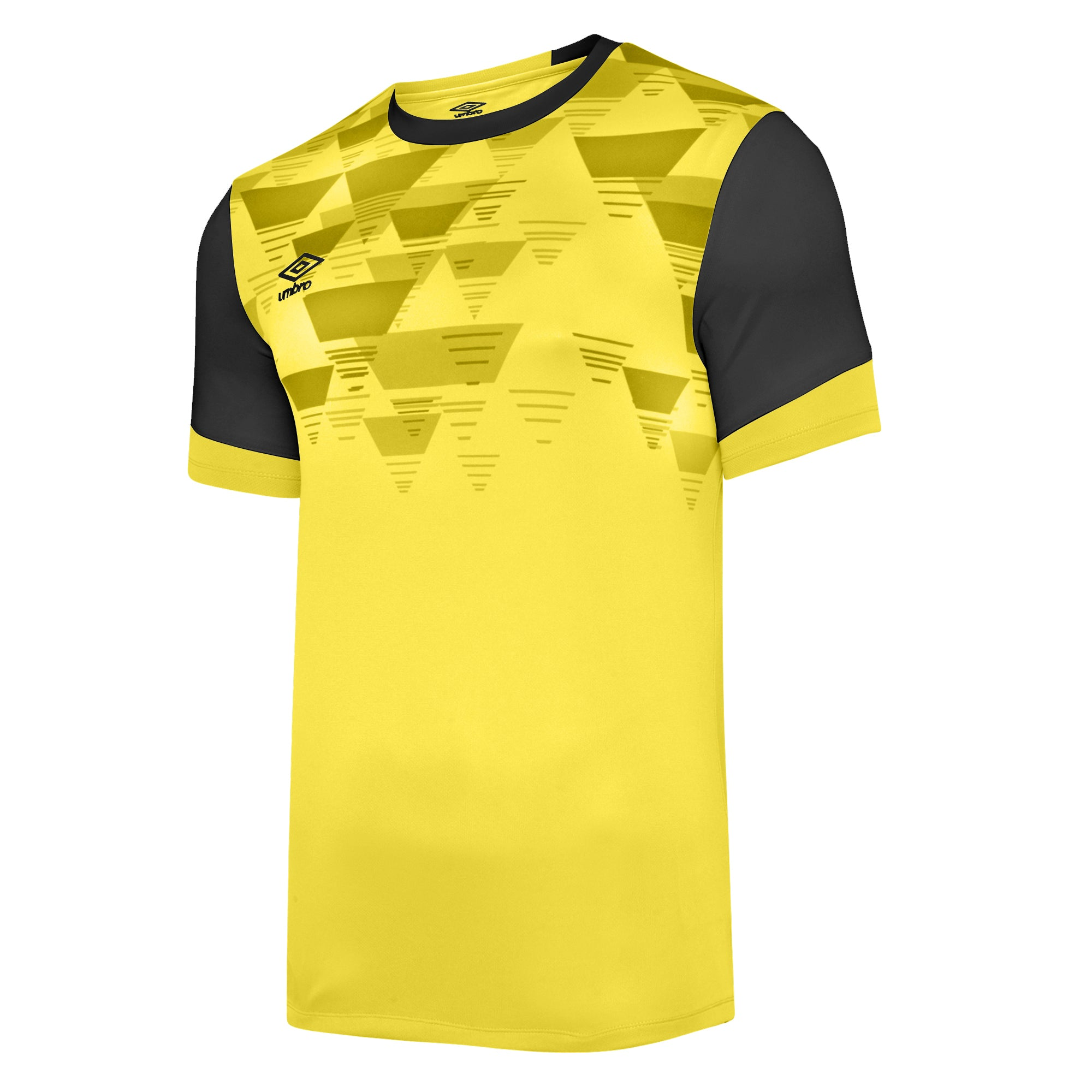Umbro Vier Jersey SS - Blazing Yellow/Carbon