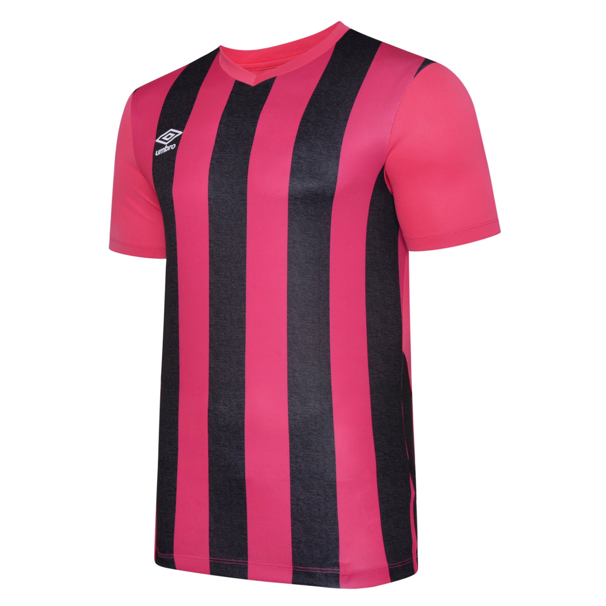 Umbro Ramone Jersey SS - Beetroot Purple/Black