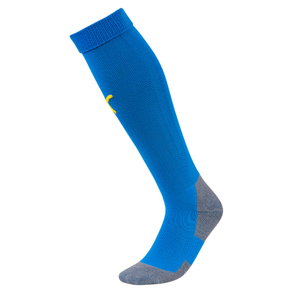 Puma Liga Core Sock - Electric Blue/Yellow