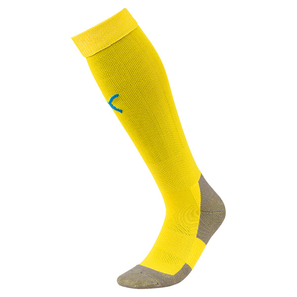 Puma Liga Core Sock - Cyber Yellow/Blue