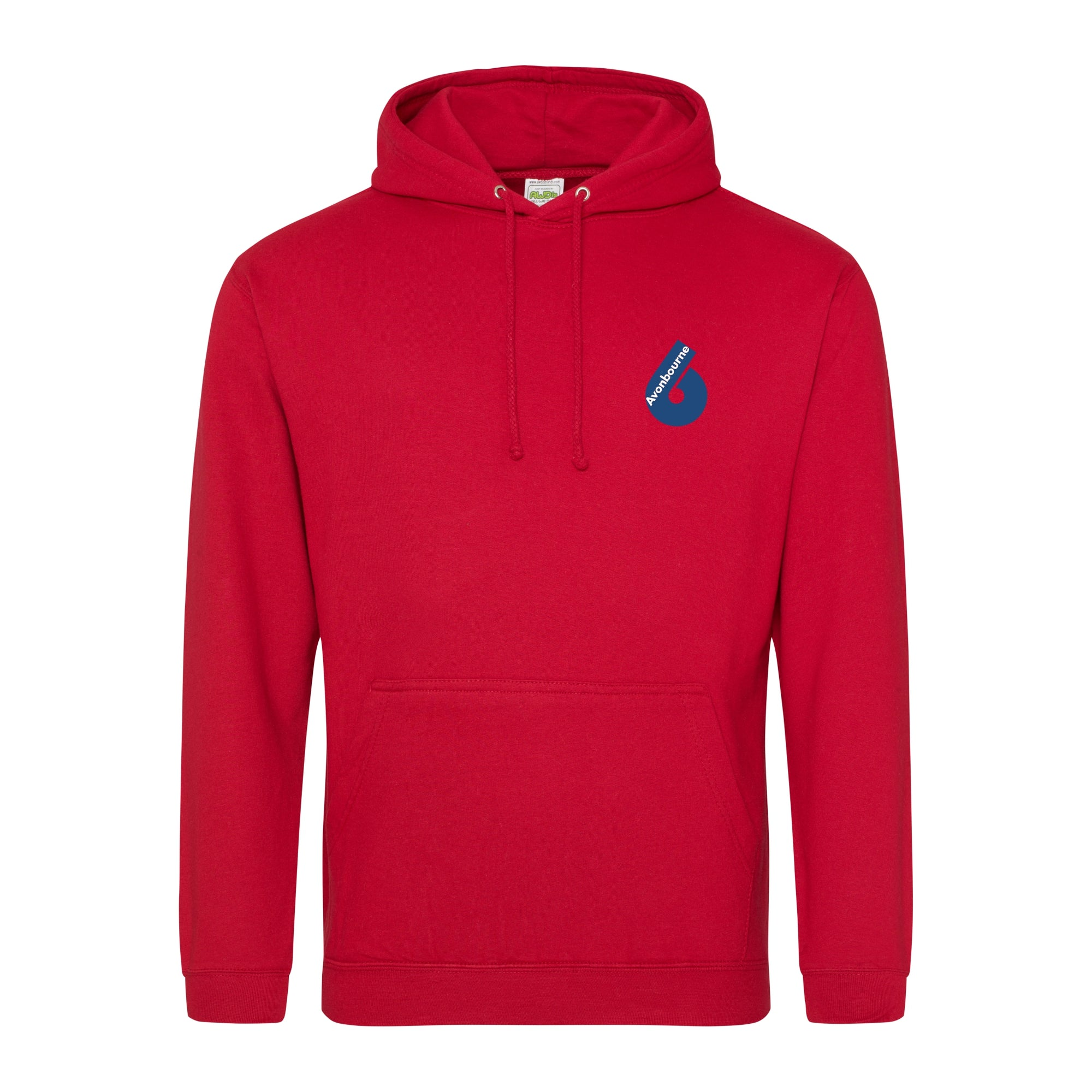 Avonbourne 6th Form Leavers Hoody 2019 - Fire Red