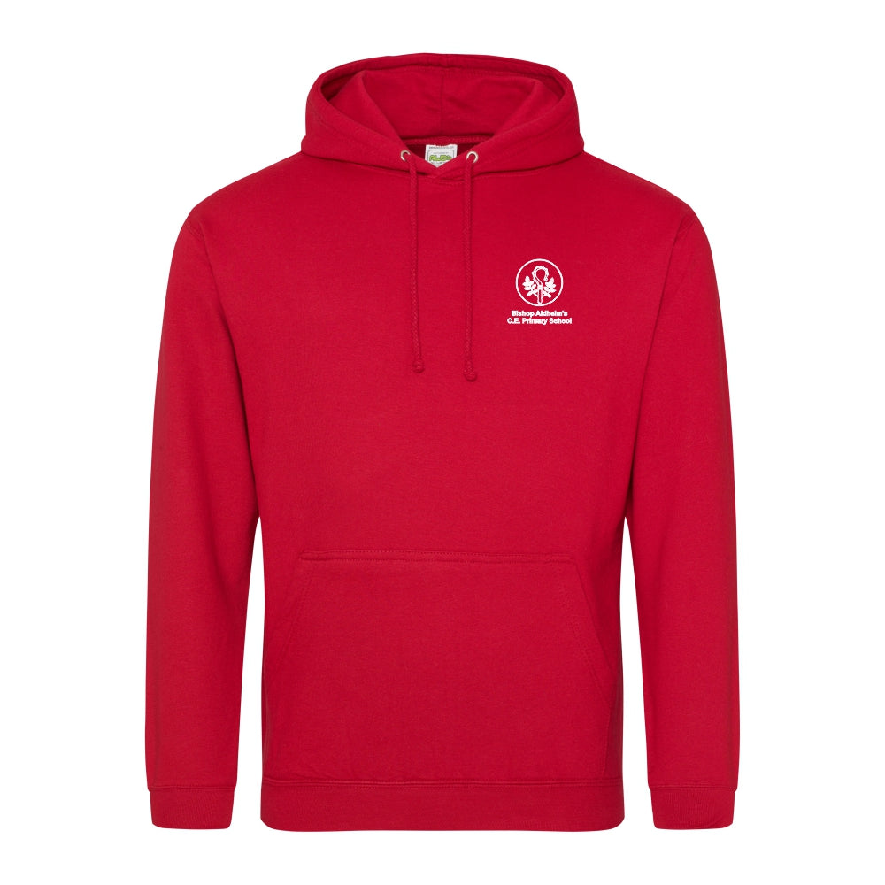 Bishop Aldhelm's Primary School Leavers Hoody 2020 - Fire Red