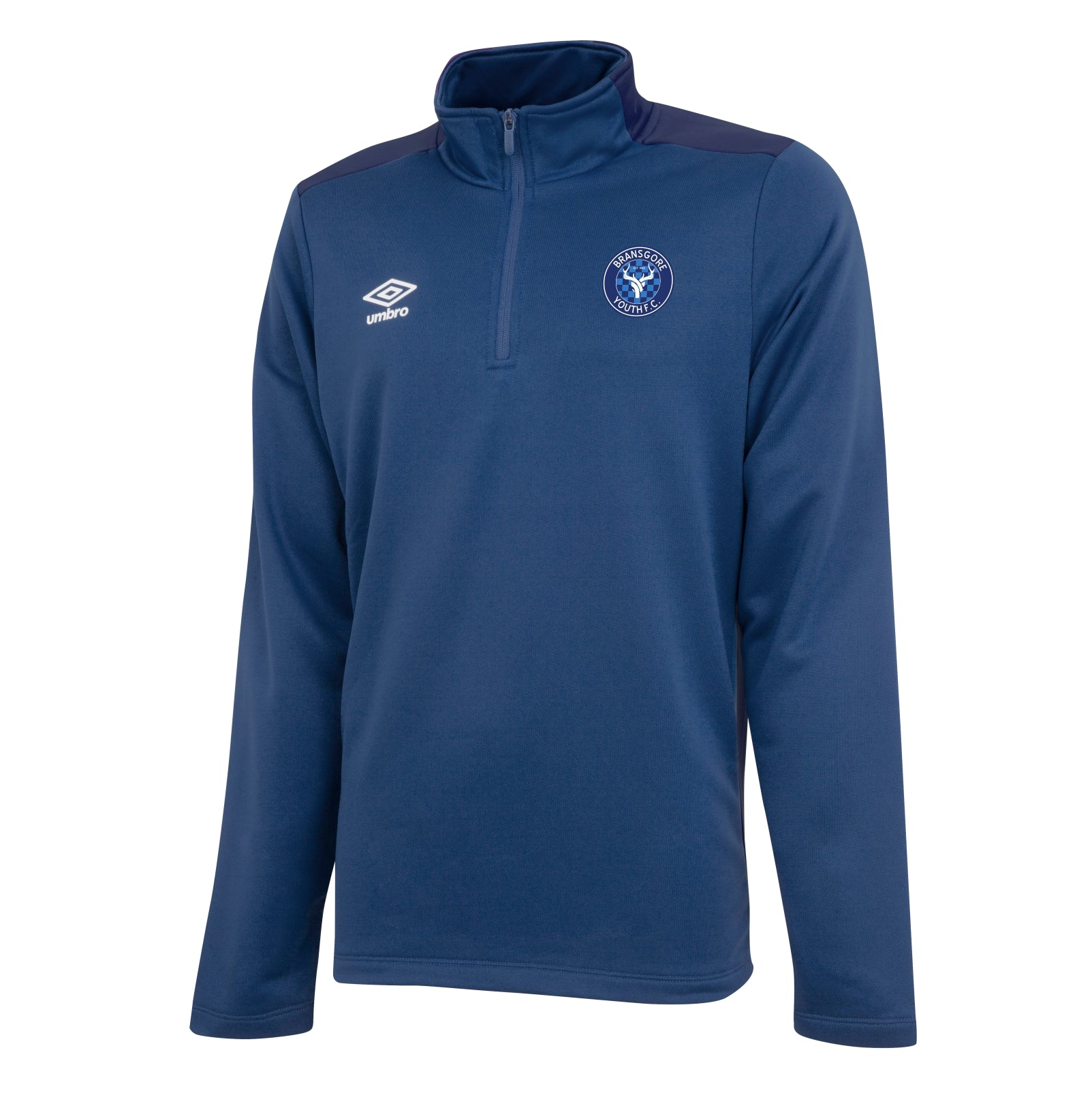 Bransgore Youth - Umbro 1/2 Zip Top