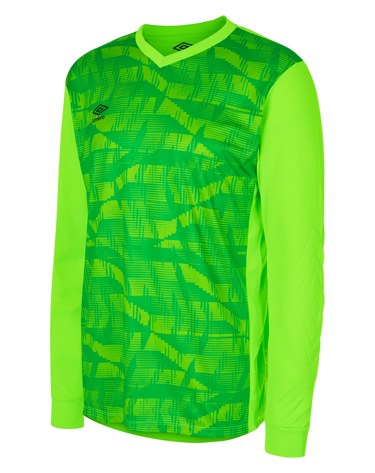 Umbro Counter Jersey in Green gecko long sleeve