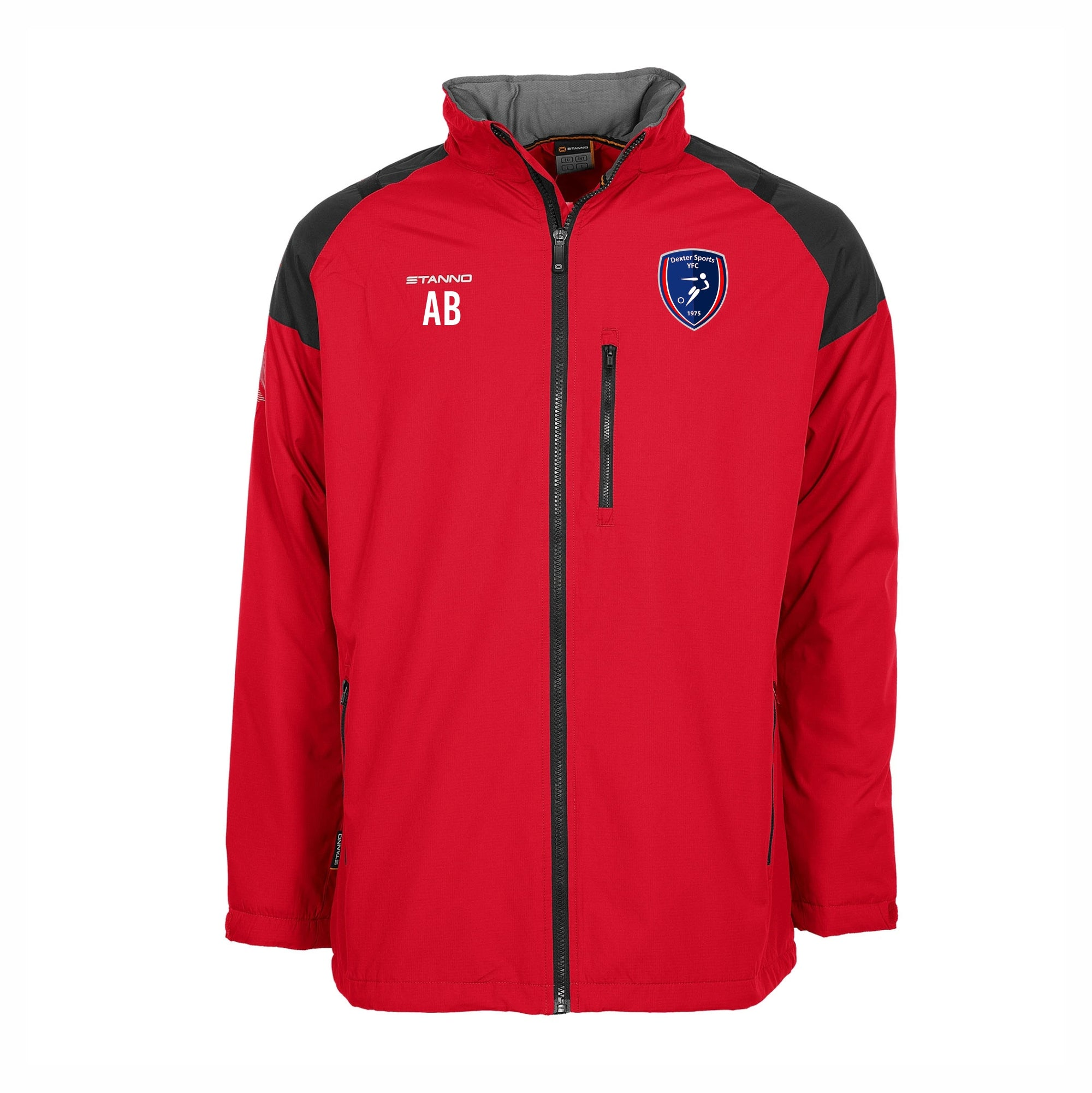 Dexters - Stanno Centro All Season Jacket - Red/Black