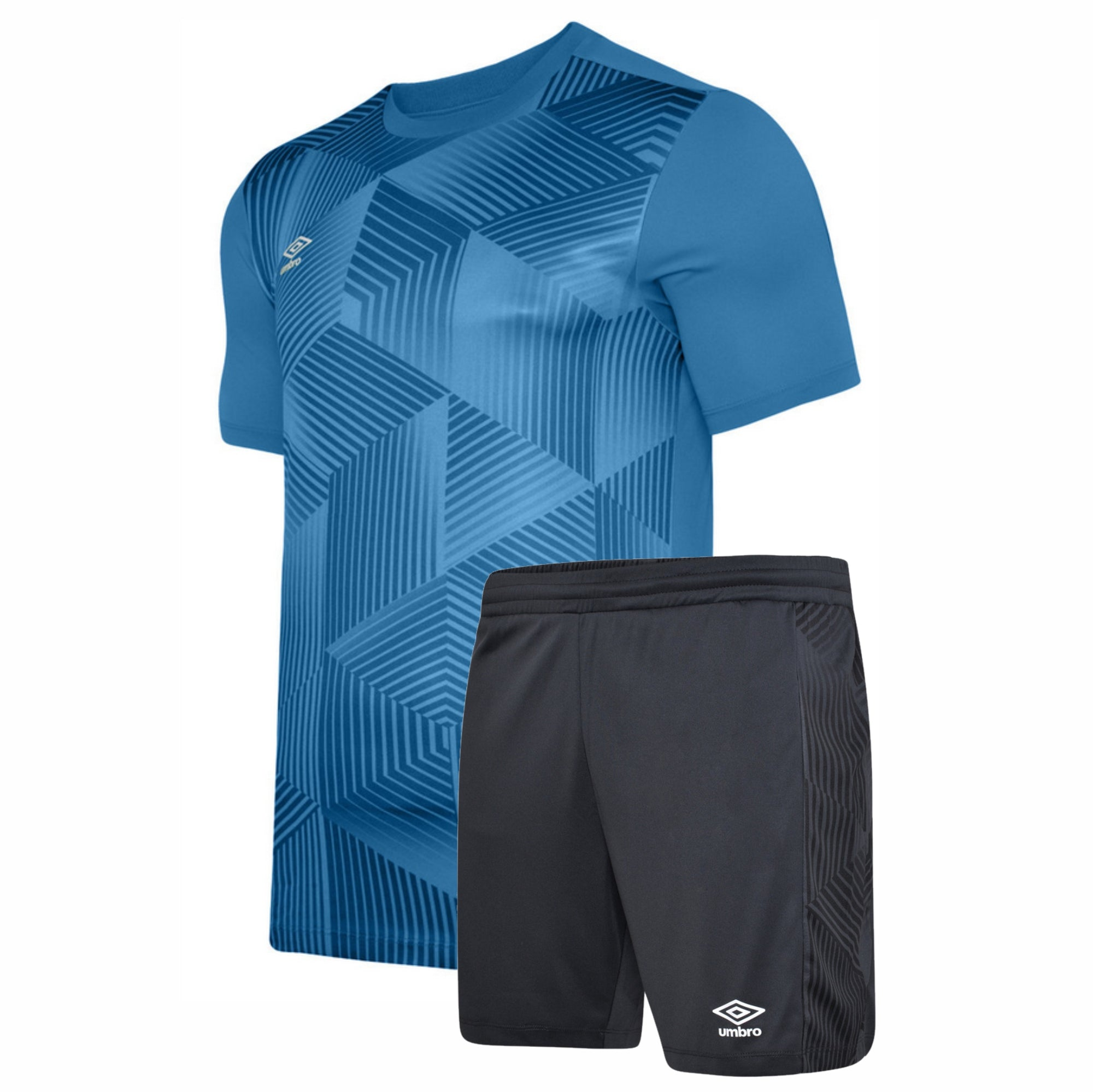 Umbro Maxium Kit Set - Blue Jewel/Black