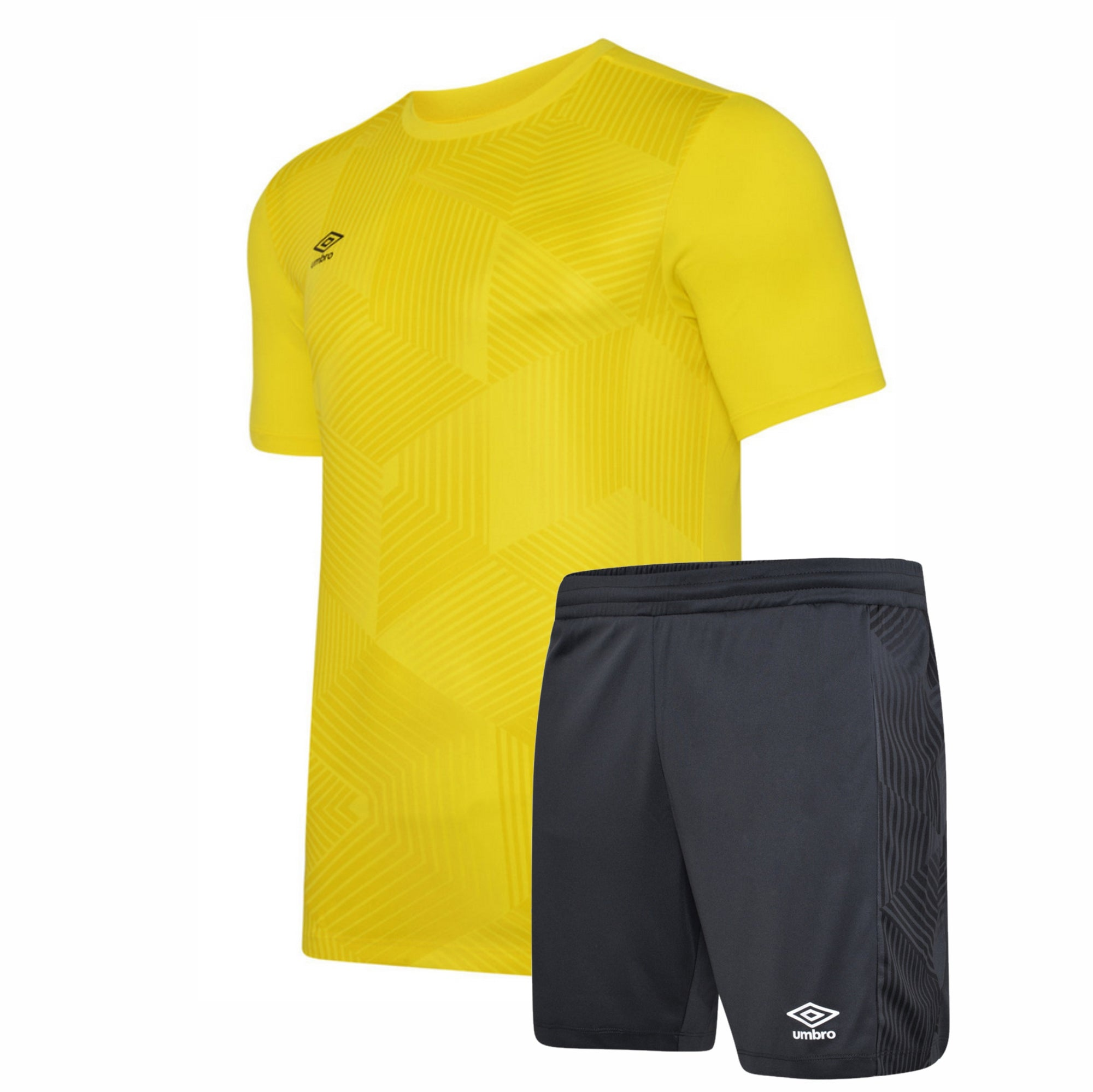 Umbro Maxium Kit Set - Blazing Yellow/Black