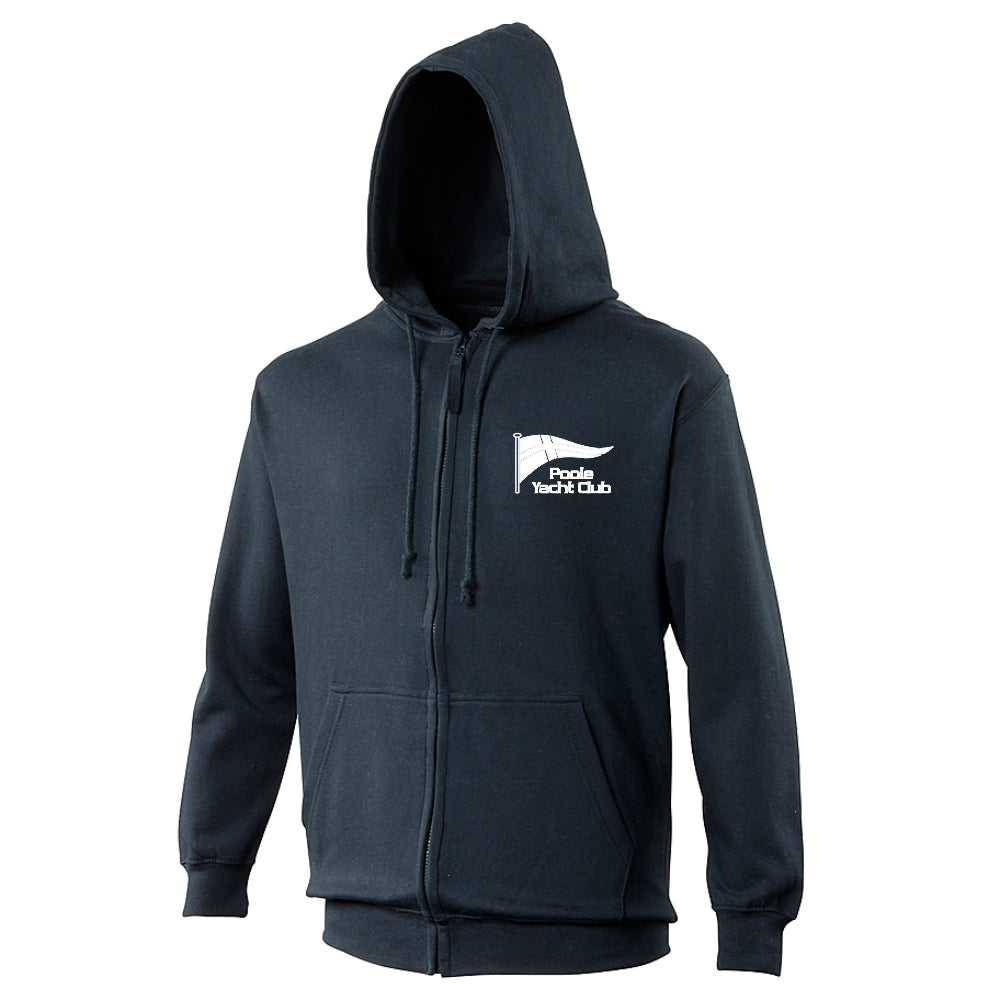 Poole Yacht Club - Youth Zipped Hoody - French Navy