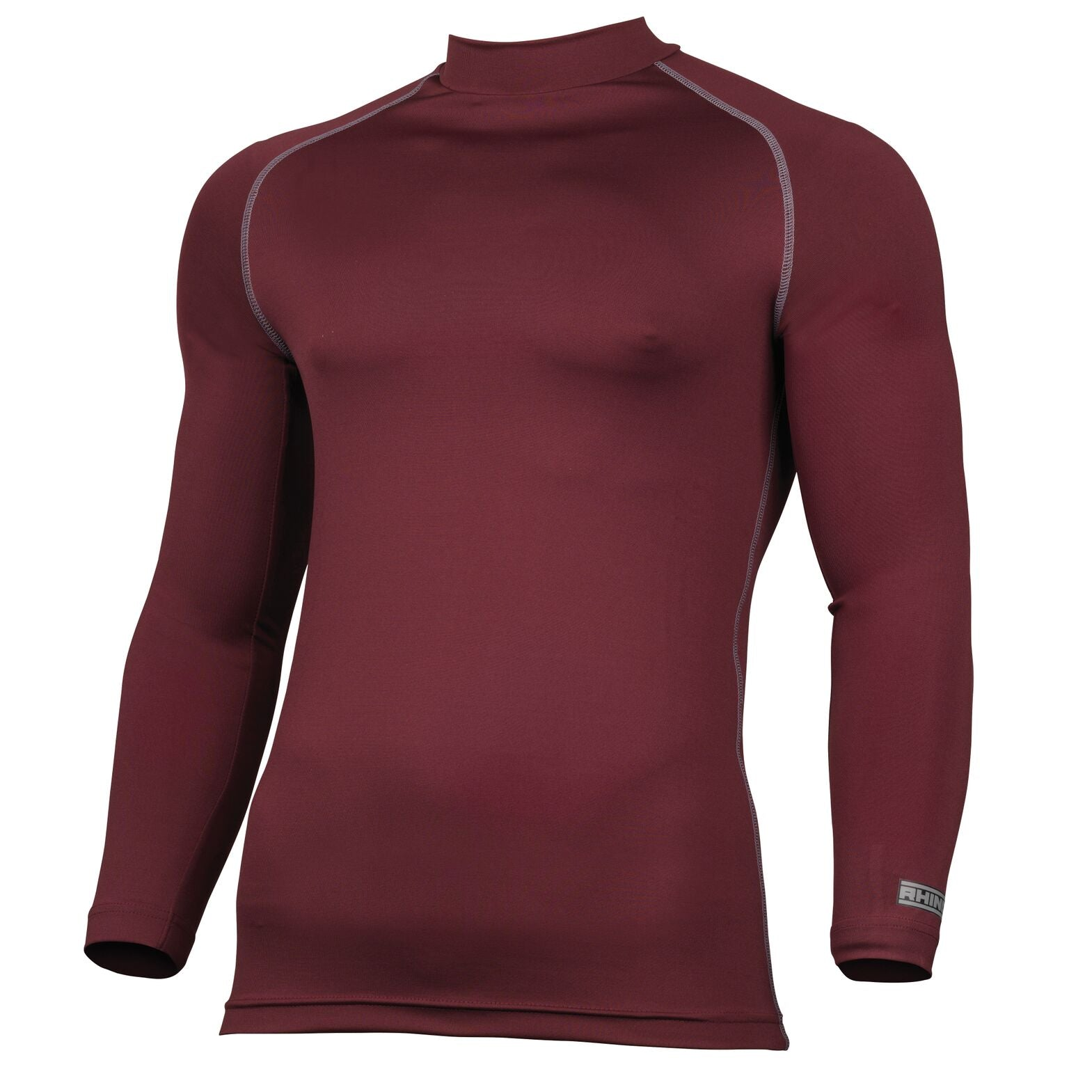 Rhino Baselayer - Long Sleeve - Maroon