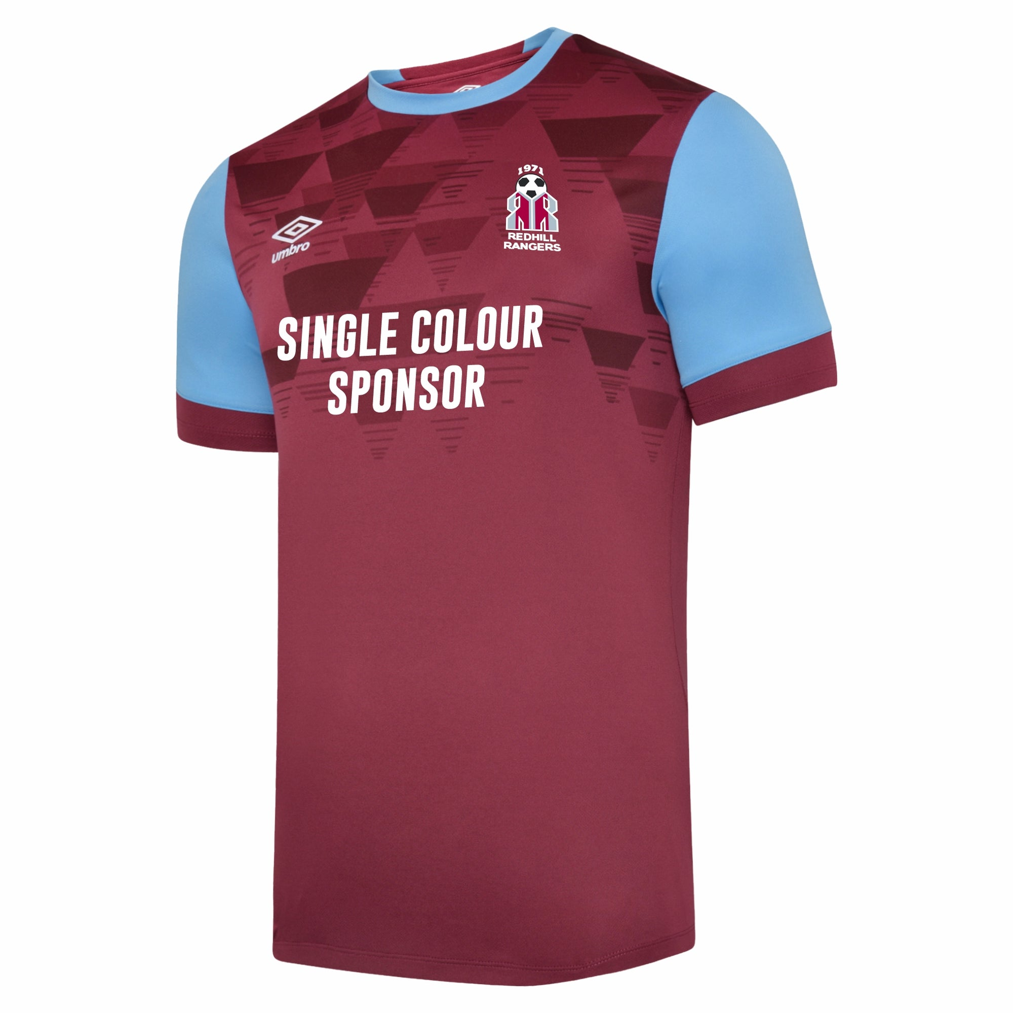 Redhill - Umbro Vier Jersey SS - Single Colour Sponsor