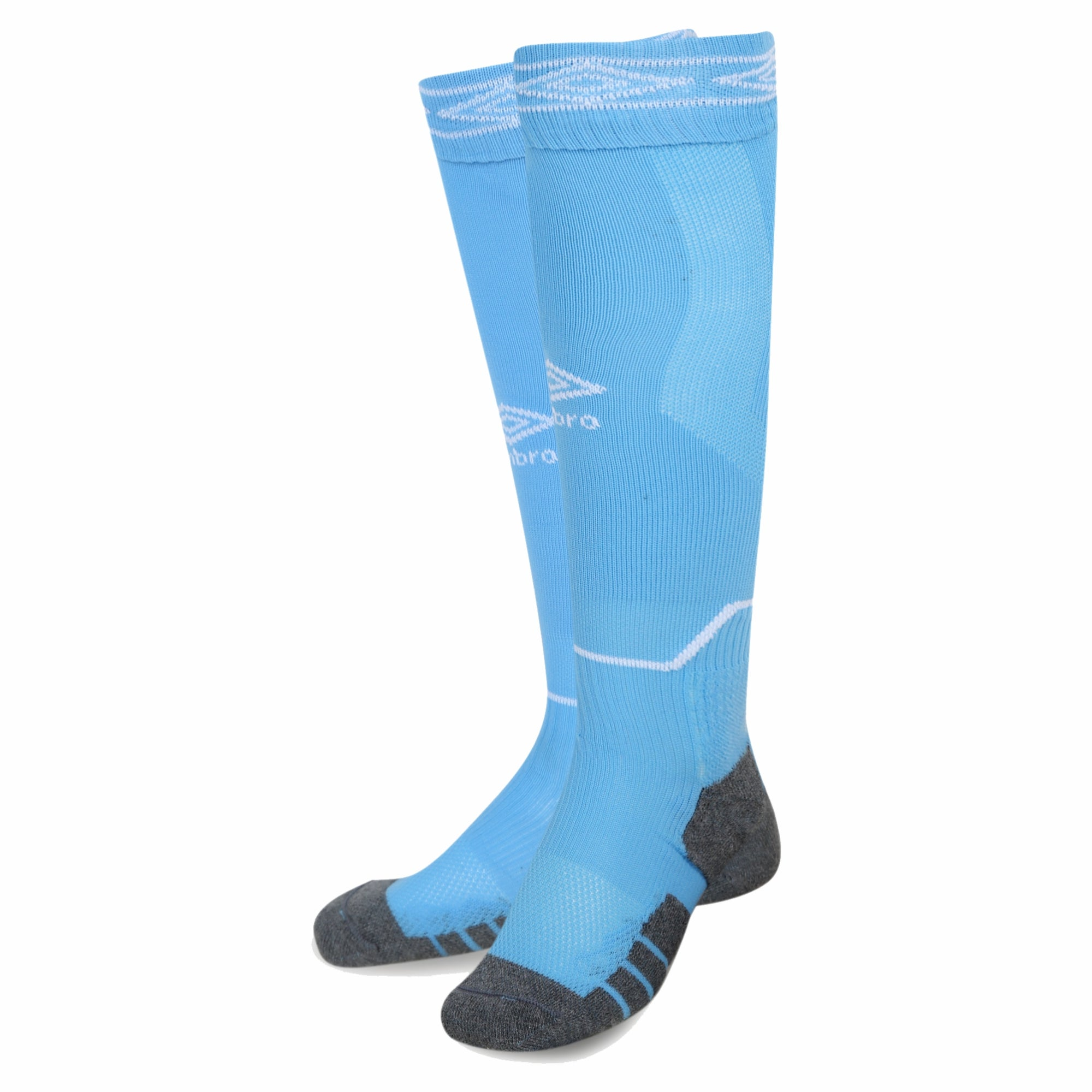 Redhill - Umbro Diamond Top Socks - Sky/White