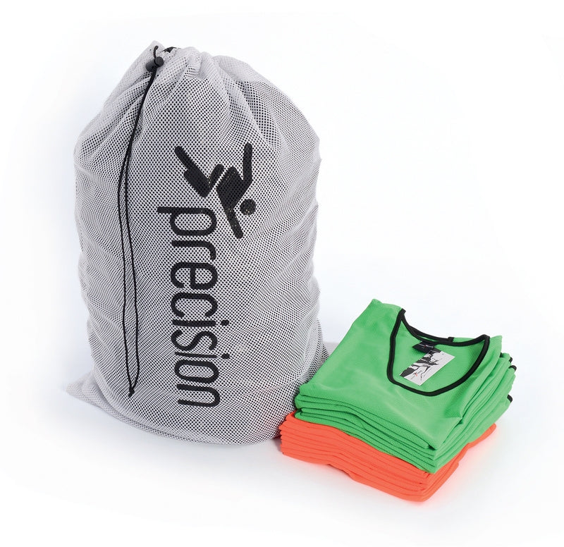 White Precision net carry & wash bag