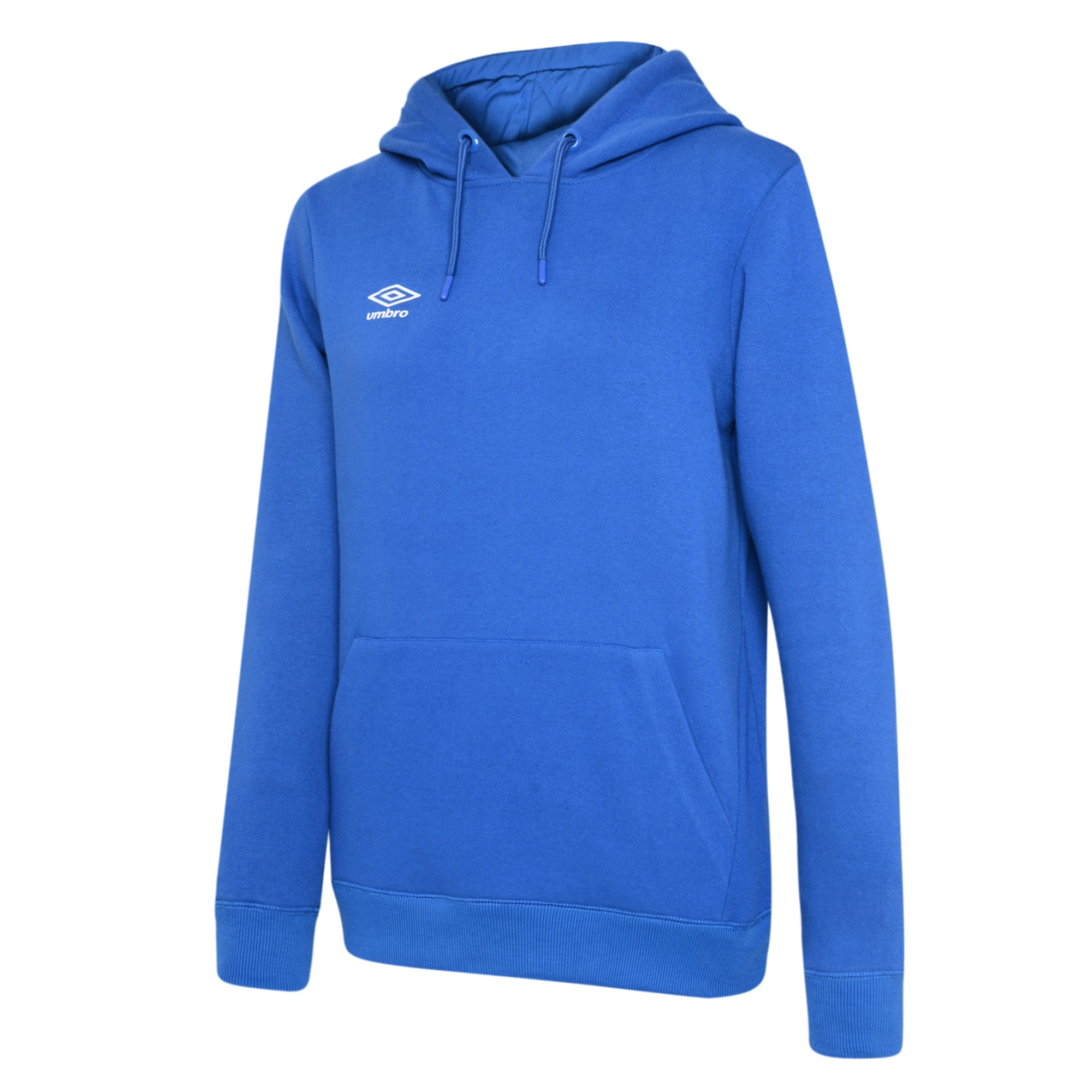 Umbro Club Leisure Women's Hoody - TW Royal/White