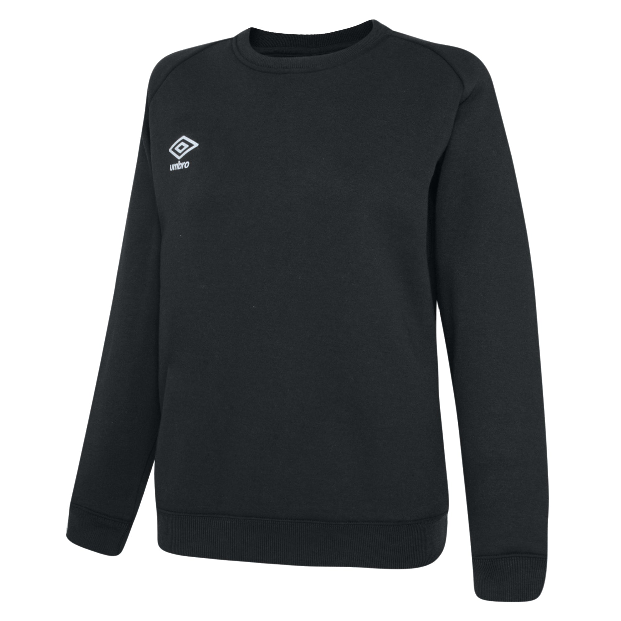 Umbro Club Leisure Women's Sweat - Black/White