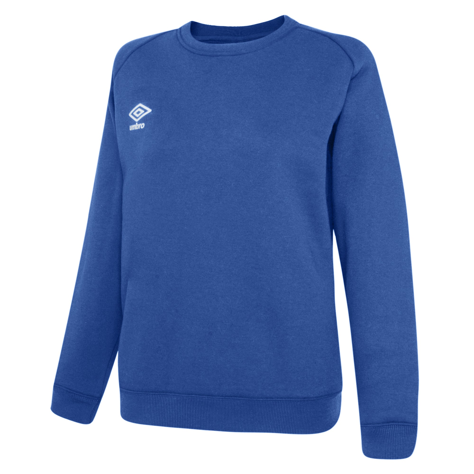 Umbro Club Leisure Women's Sweat - TW Royal/White