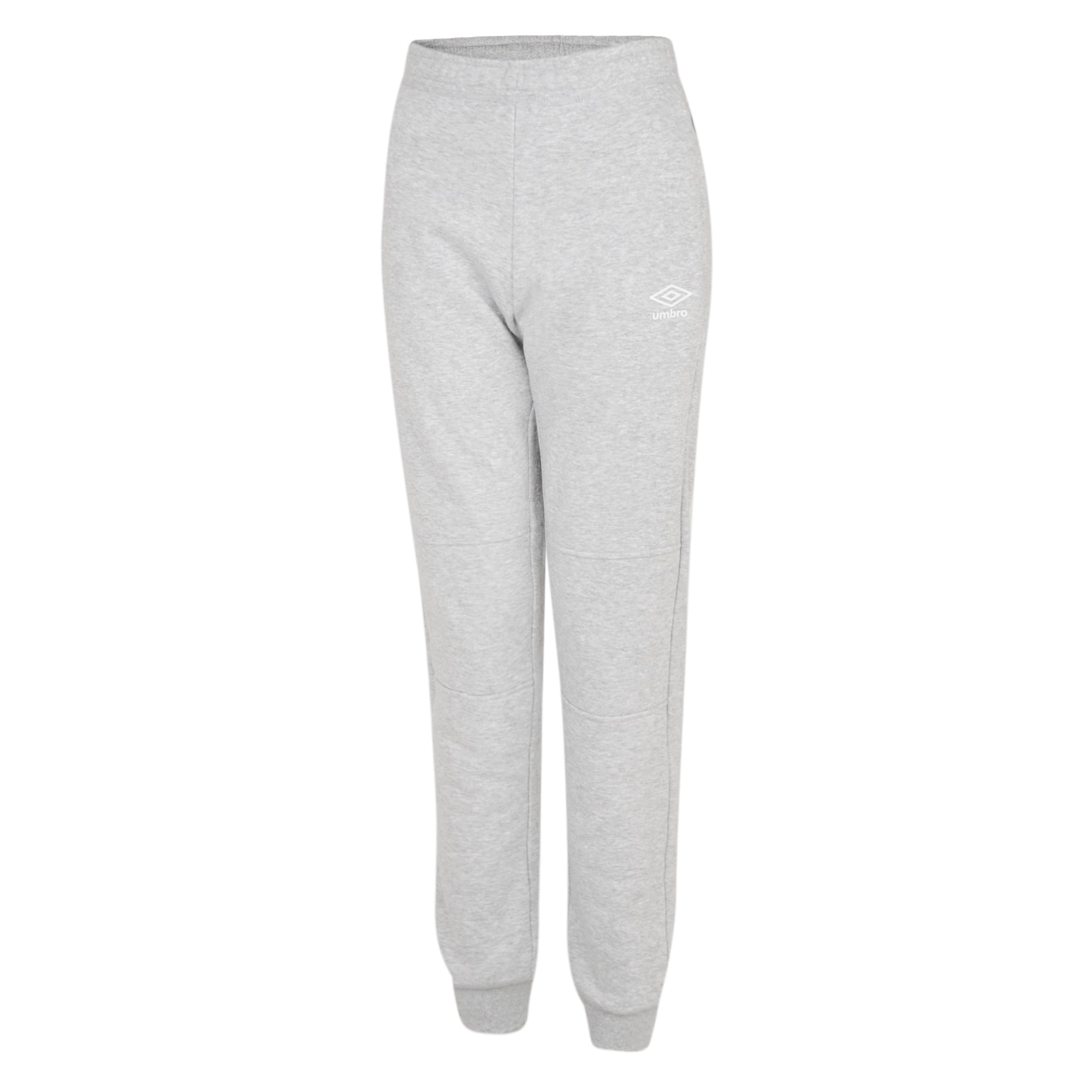 Umbro Club Leisure Women's Jogpants - Grey Marl/White
