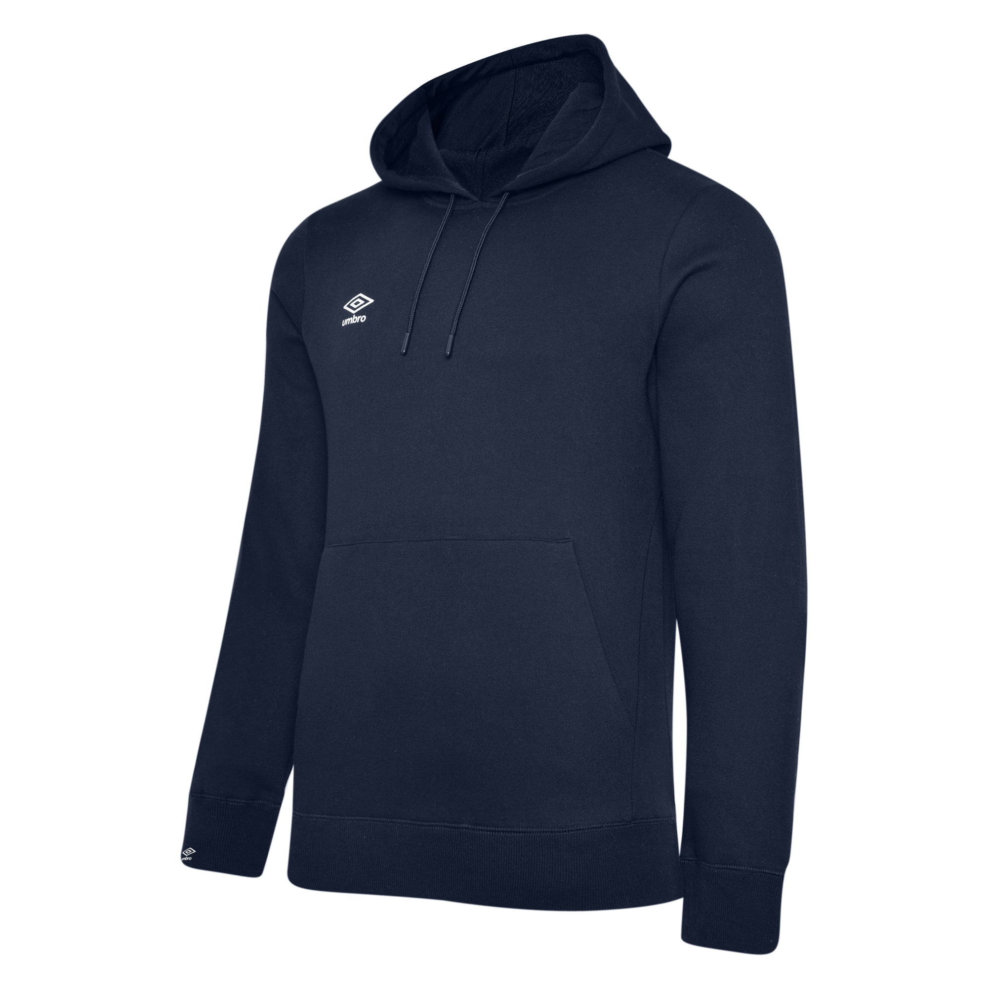 Umbro Club Leisure Hoody - TW Navy/White