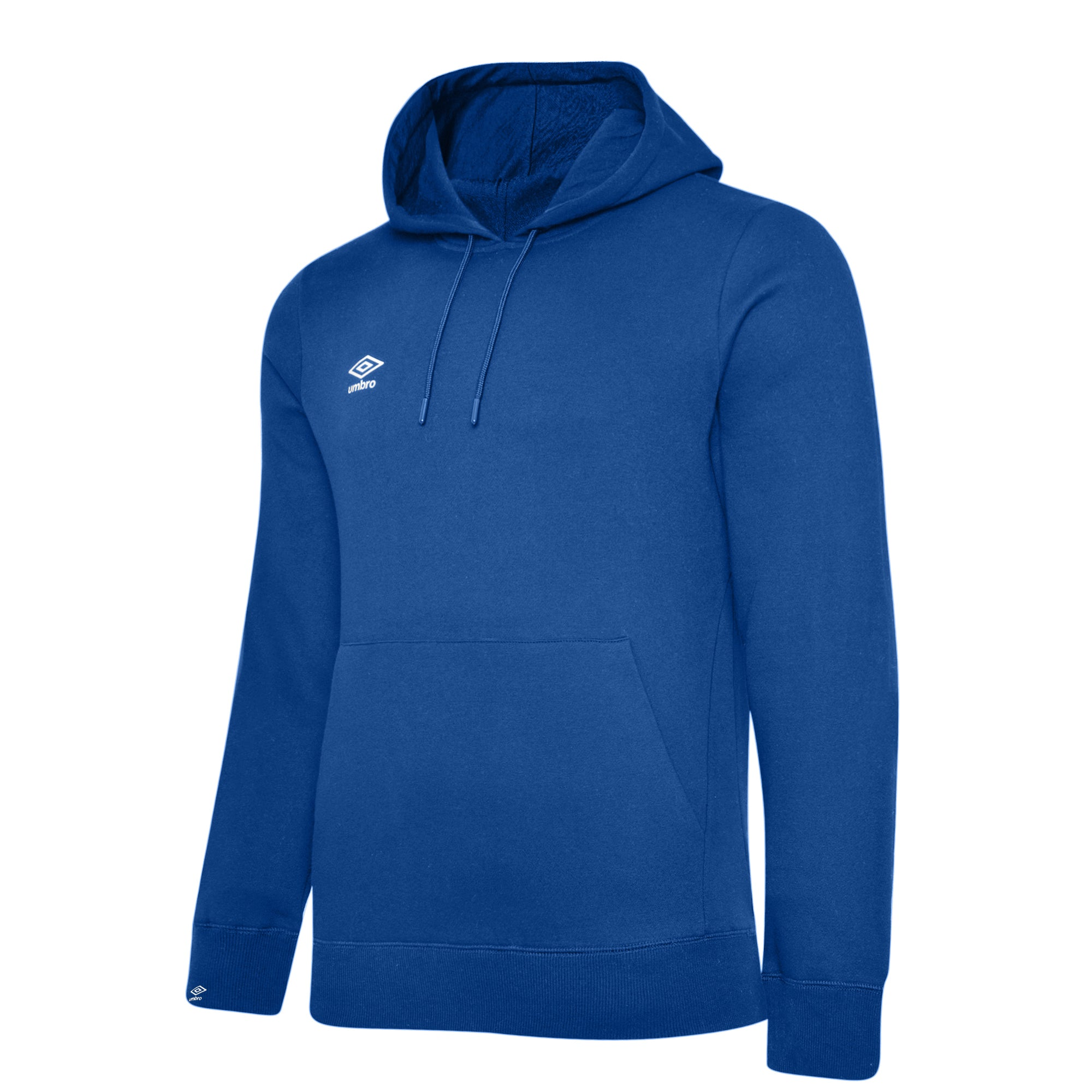 Umbro Club Leisure Hoody - TW Royal/White