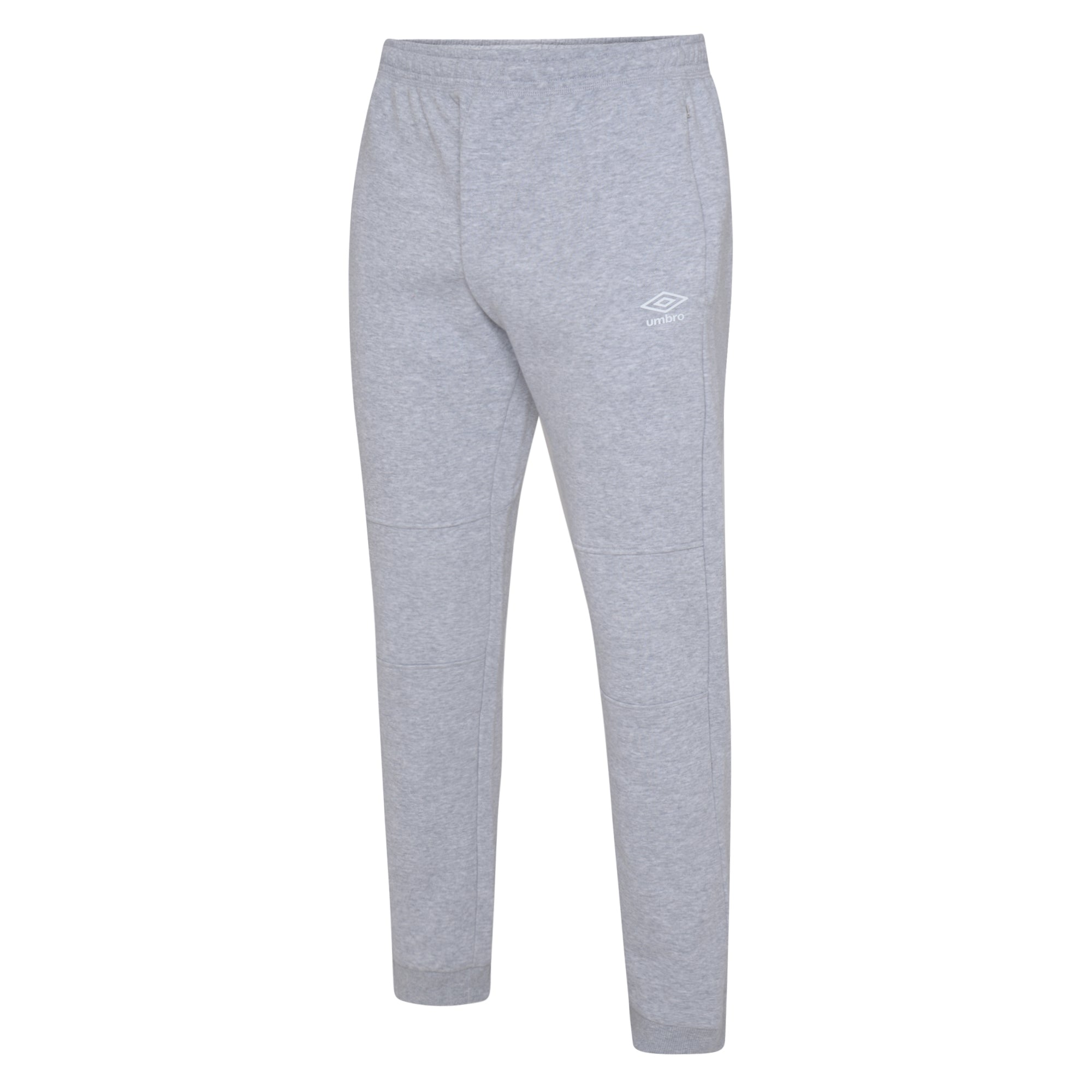 Umbro Club Leisure Jogpants - Grey Marl/White