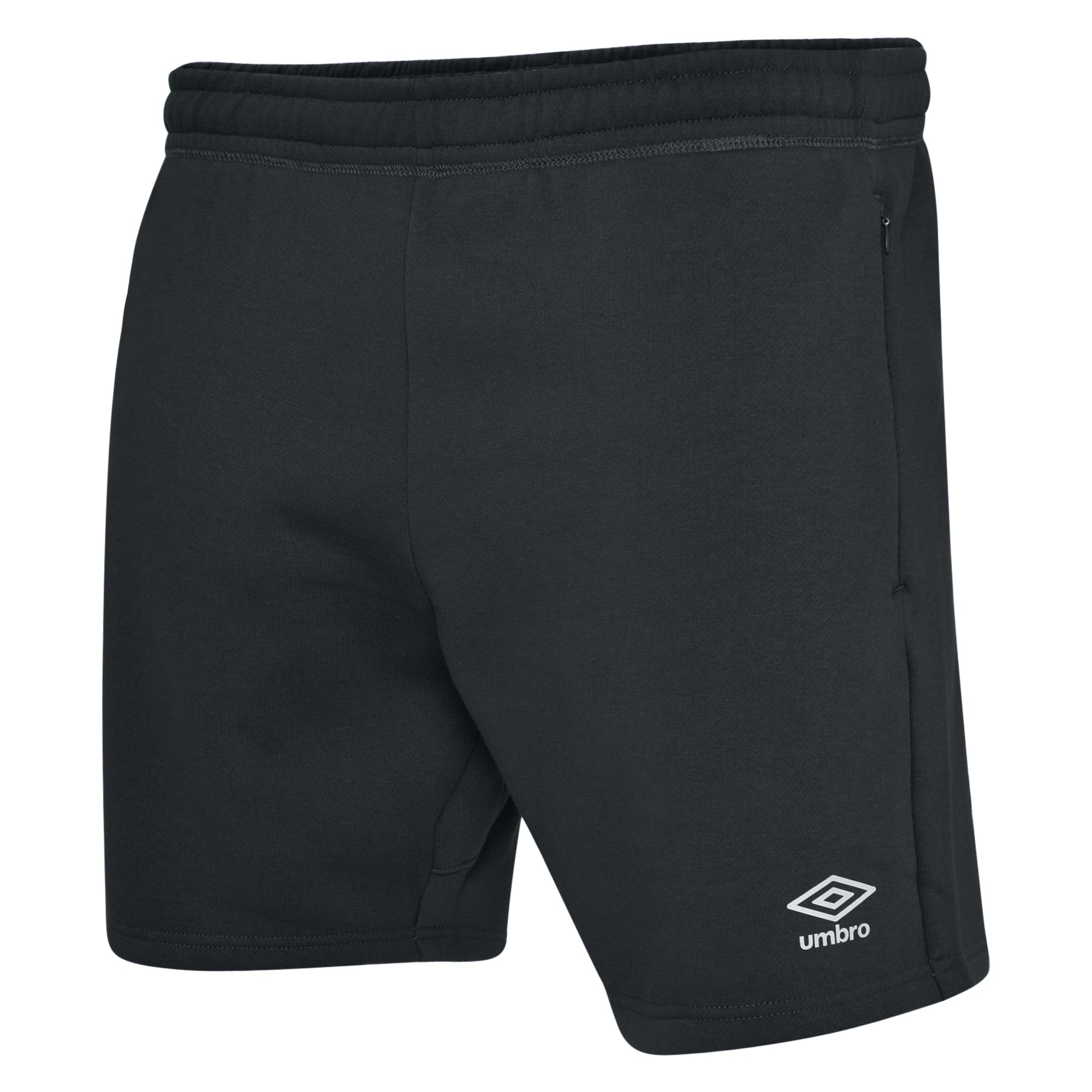Umbro Club Leisure Jog Shorts - Black/White