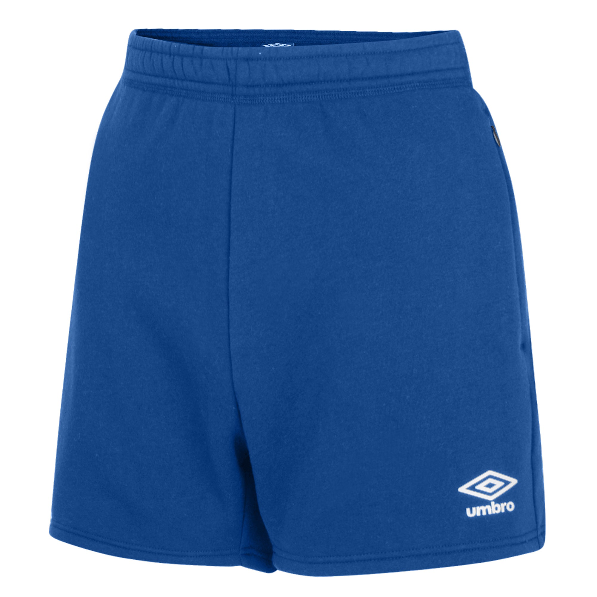 Umbro Club Leisure Women's Jog Shorts - TW Royal/White