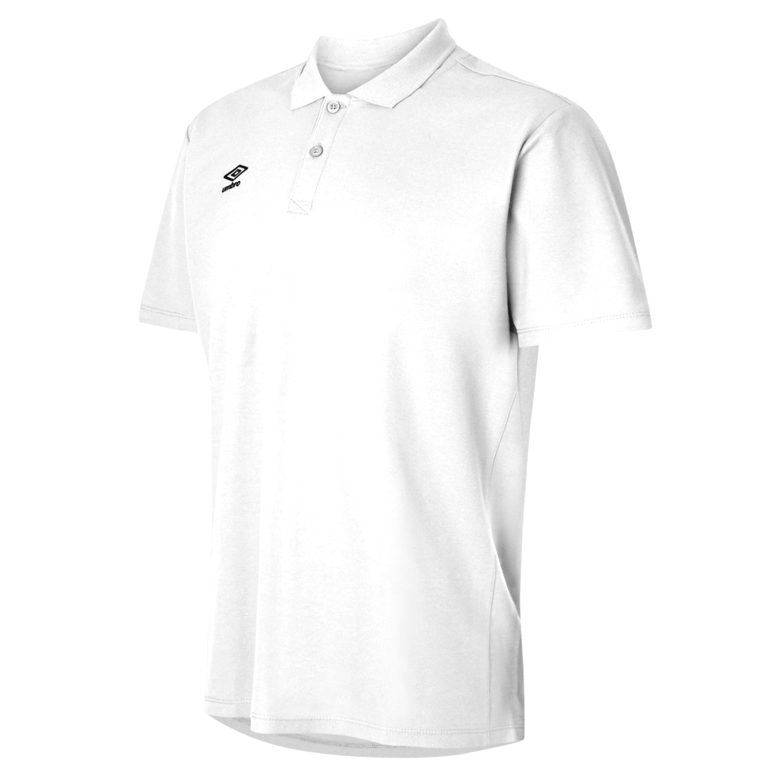 Umbro Club Essential Polo - White/Black