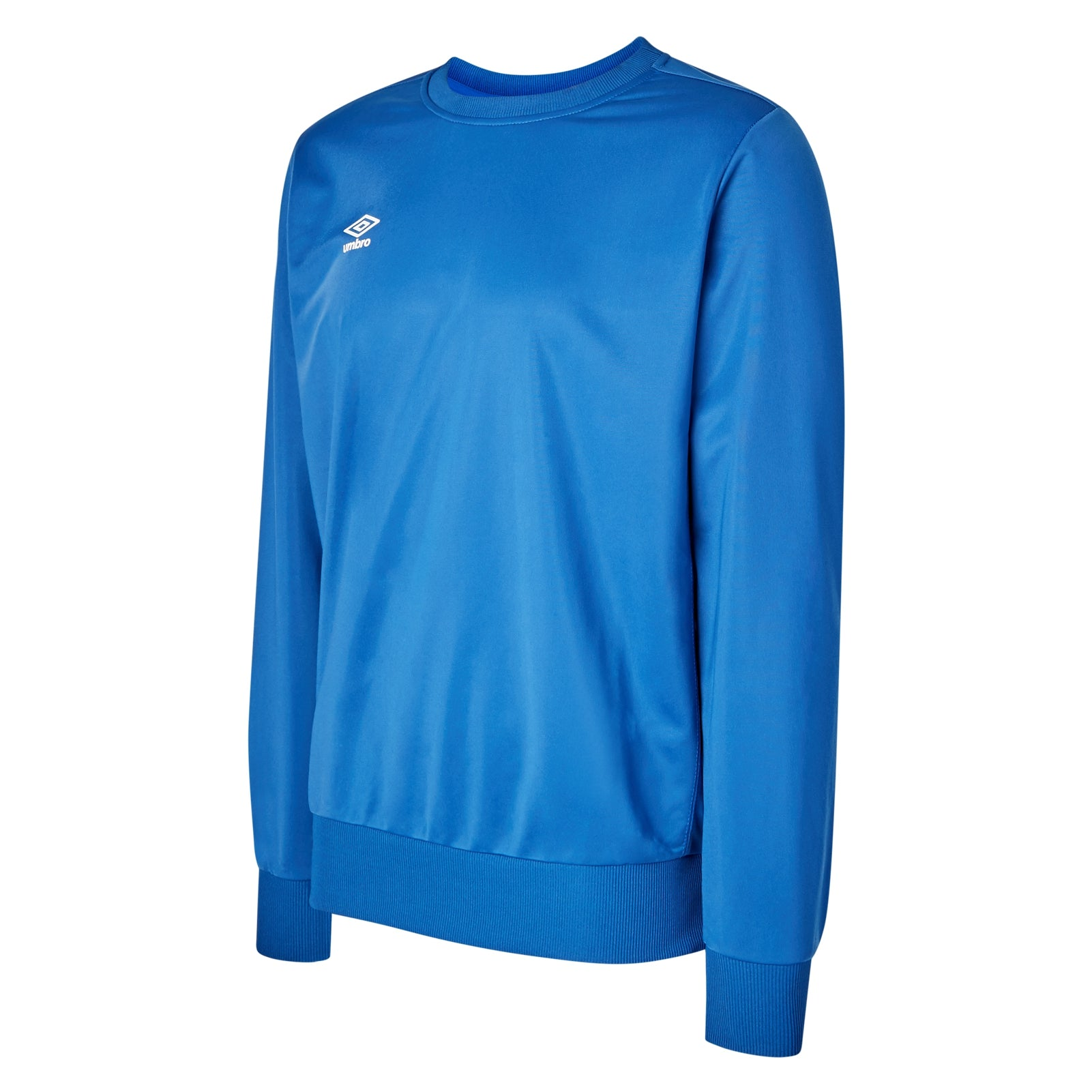 Umbro club Essential poly sweat in royal blue with white Diamond logo