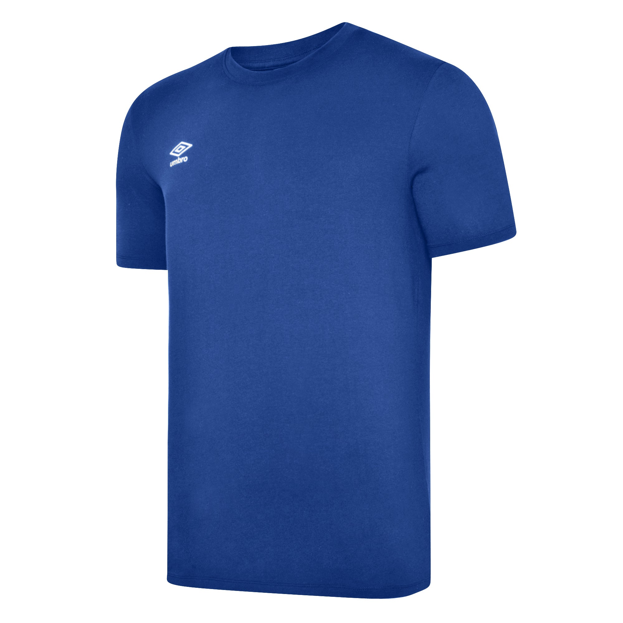 Umbro Club Leisure Crew Tee - TW Royal/White