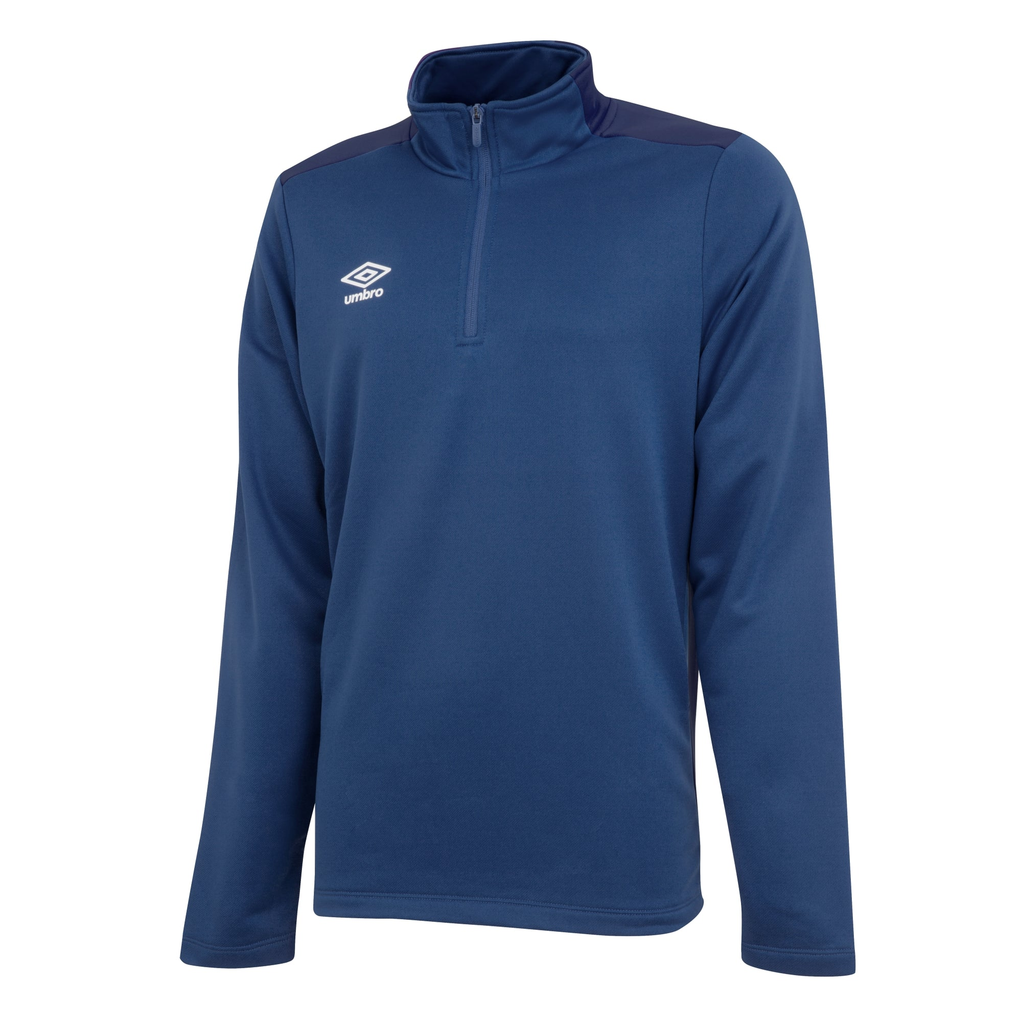 Umbro 1/2 zip top in TW navy/dark navy.