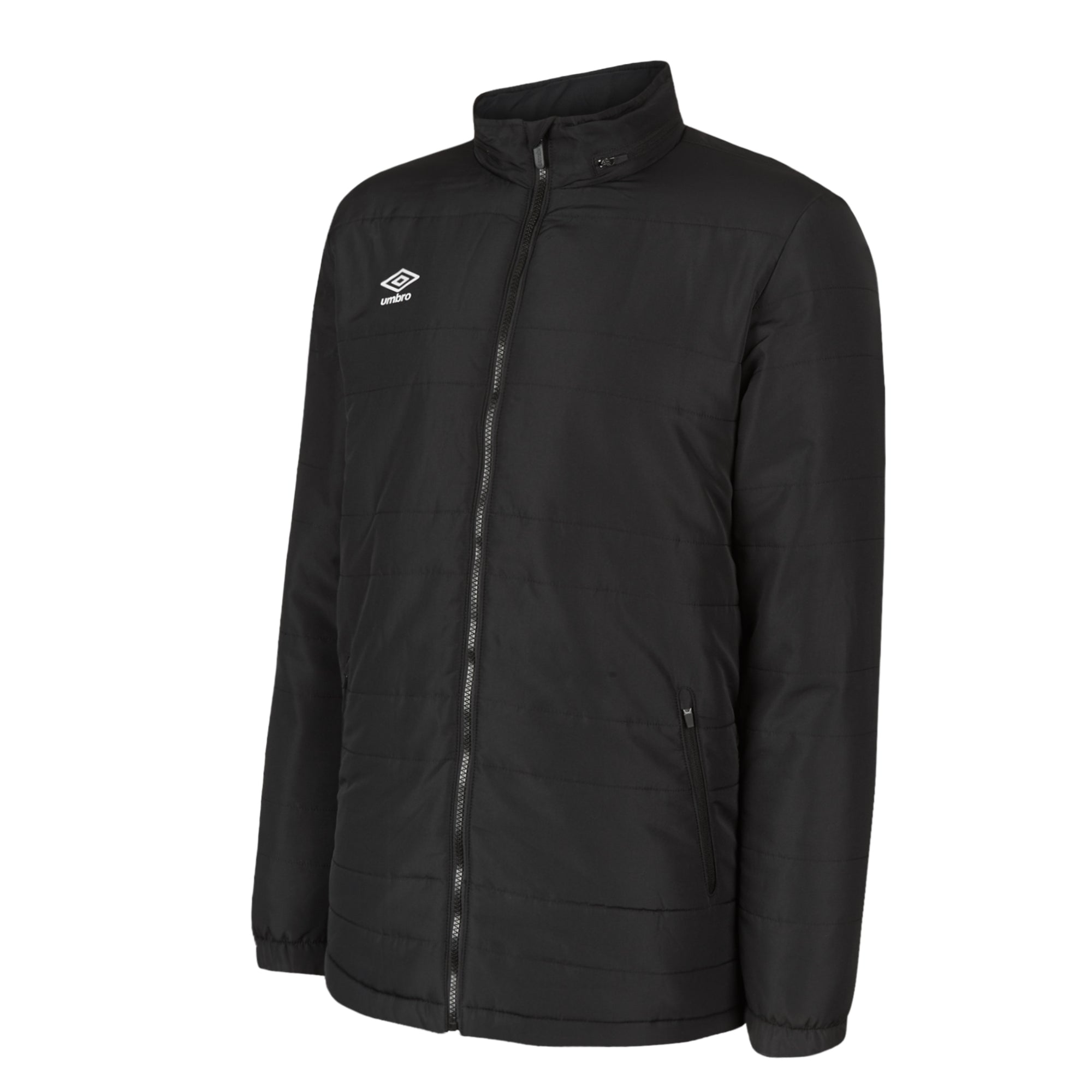 Umbro Club Essential Bench Jacket - Black