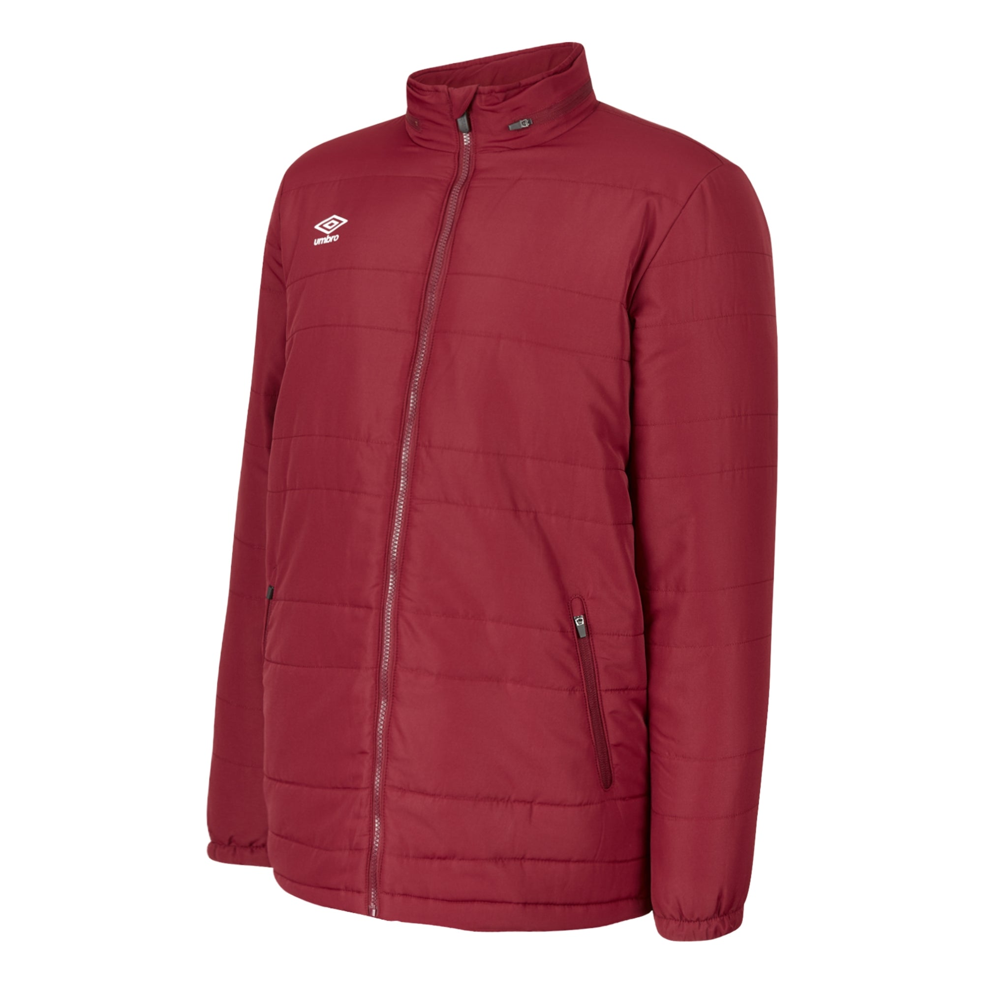 Umbro Club Essential Bench Jacket - New Claret