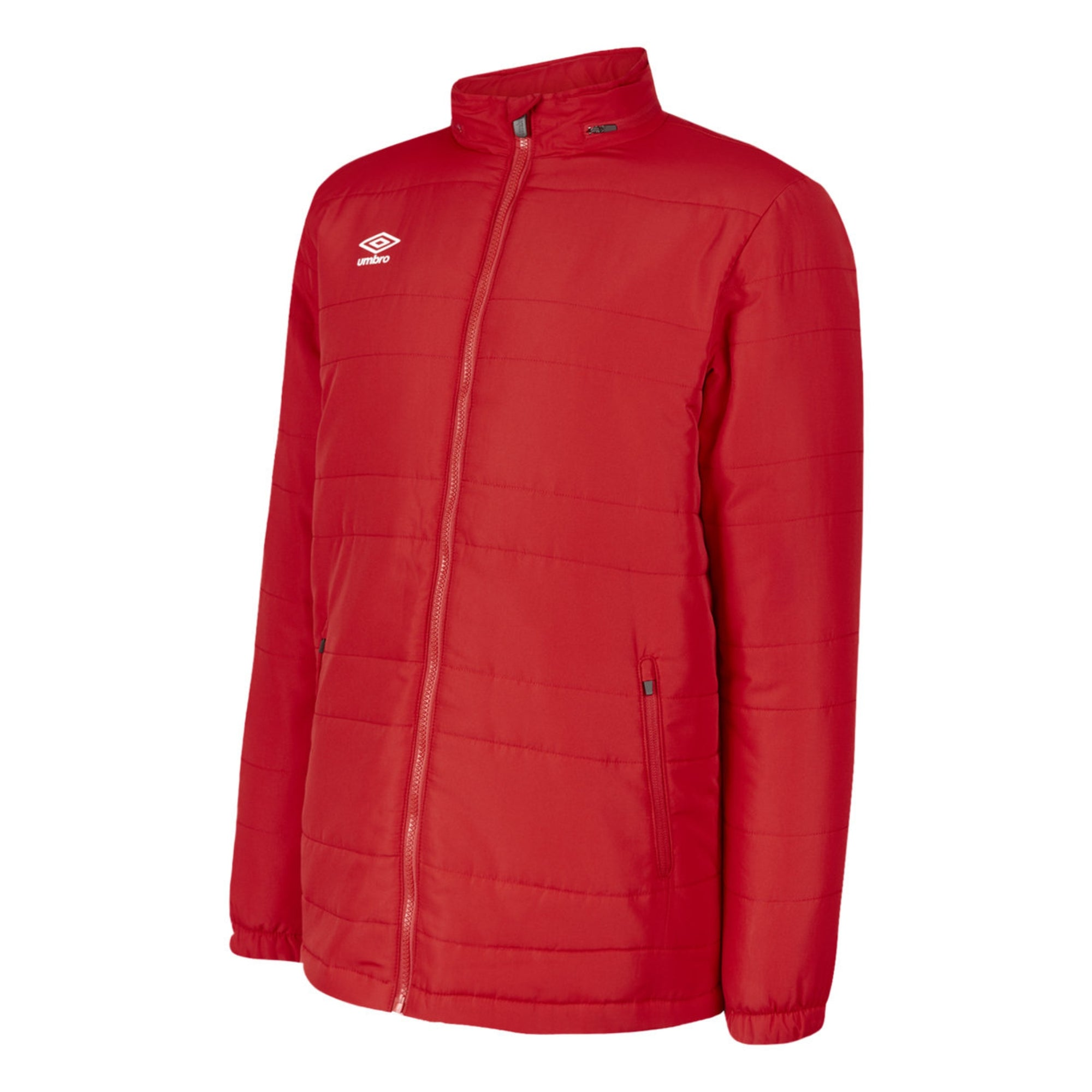 Umbro Club Essential Bench Jacket - Vermillion