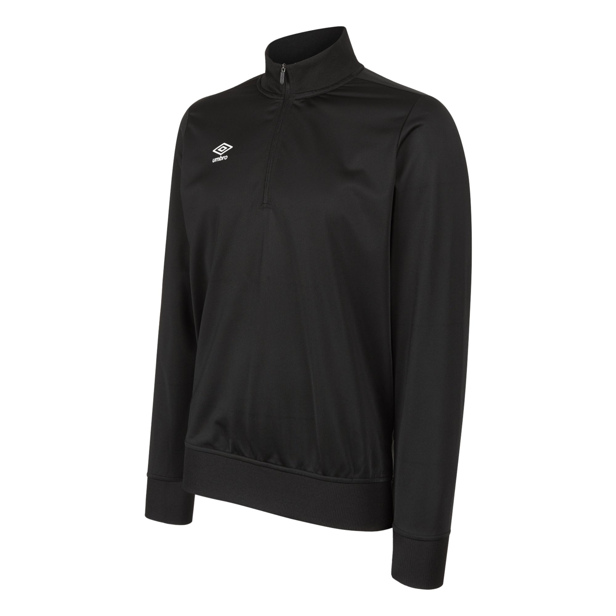 Umbro Club Essential Half Zip Sweat - Black