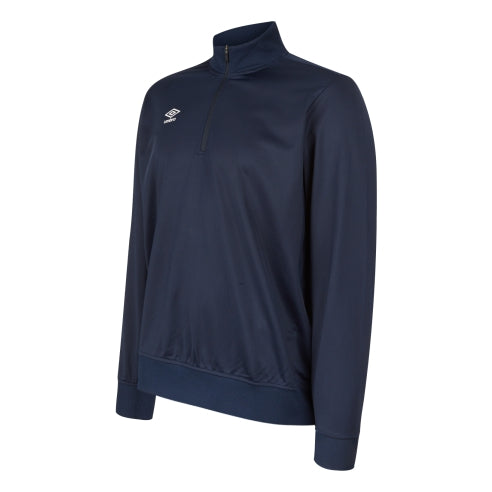Umbro Club Essential Half Zip Sweat - Dark Navy